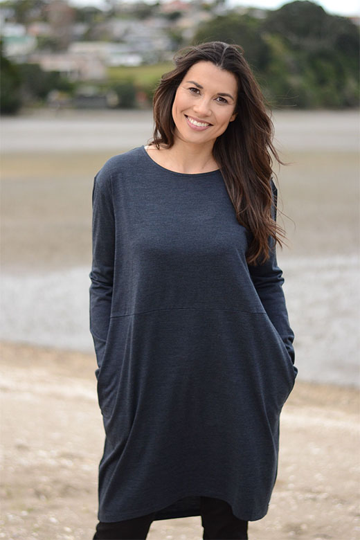 Relaxed Pocket Tunic Dress